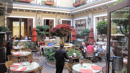 Hotel Grano de Oro San Jose:                   Lovely Rstaurant