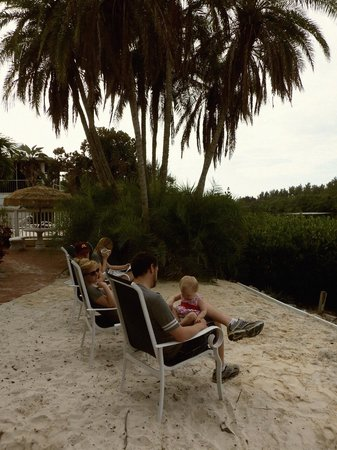 Siesta Key Bungalows: Overlooking Heron Lagoon