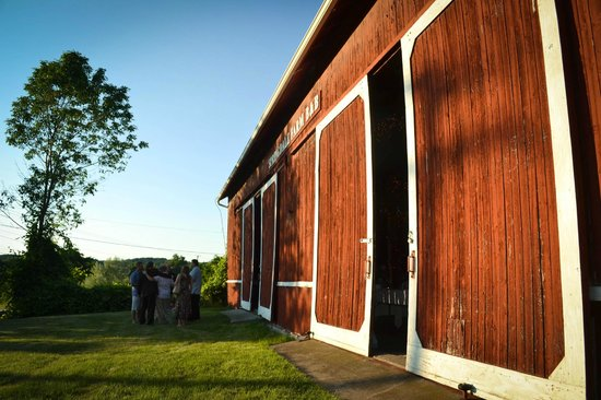 Springdale Farm Bed & Breakfast:                   Barn for reception