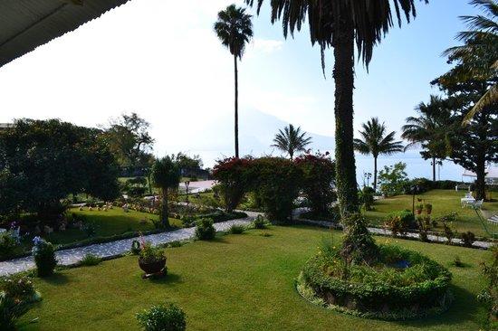 Jardines del Lago: Vista desde el balcón de la habitación