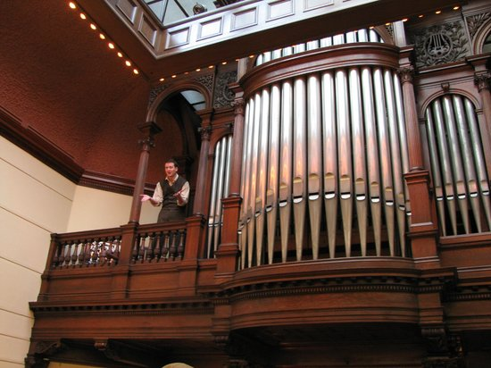 James J Hill House Organ In Library With Help