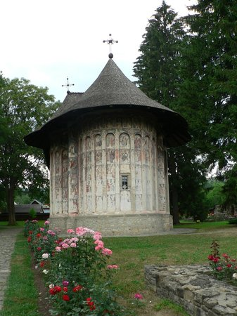 The Painted Monasteries of Bucovina: Humor Monastery