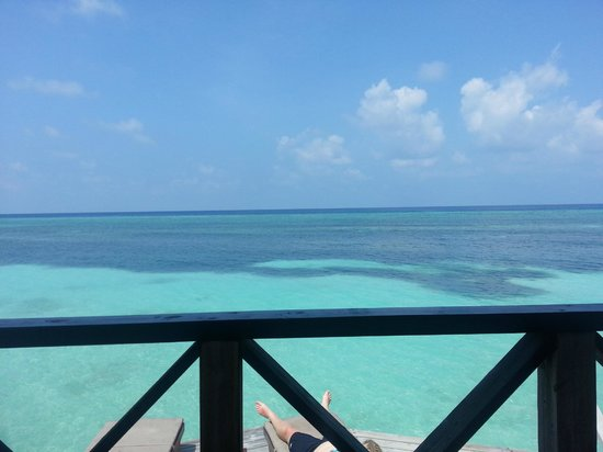Kuredu Island Resort & Spa:                   from balcony