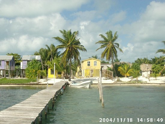 Lorraine's Guest House: from the dock 2005