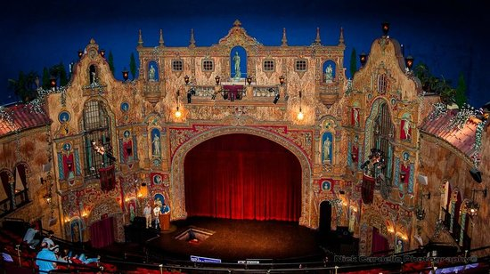 Tampa Theatre:                   Interior