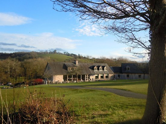 Teign Valley Golf And Hotel: Teign Valley Clubhouse & hotel