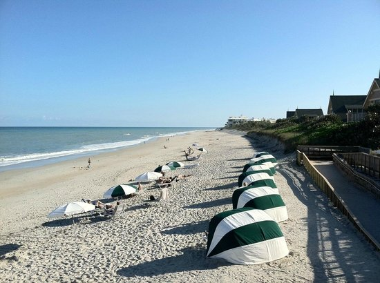 Disney's Vero Beach Resort:                   The beach was private and absolutely perfect!