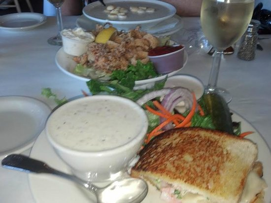 Vivolo's Chowder House: Our Meal 01/19/2013