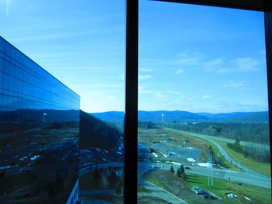 Seneca Allegany Resort & Casino:                   View from our room - Beautiful!