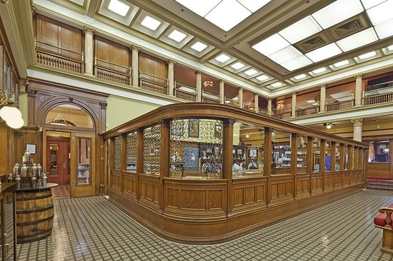 Canadian Club Brand Center: Italian mosaic hallway and gift shop