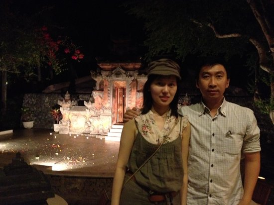 Grand Hyatt Bali: After dinner & hotel open-air performance