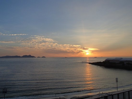 Rio Guest House ( Marta's Guest House):                   Sunrise from Penthouse Terrace
