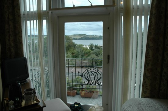 Aberlaw Guest House :                   The Firth of Tay from Bedroom