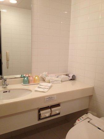 JR Tower Hotel Nikko Sapporo: Separate Toilet