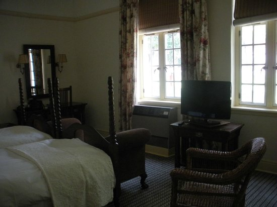 The Victoria Falls Hotel:                   My room which was a perfect setting with outstanding furniture