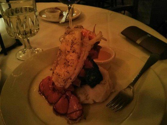 The Beach House :                   Lobster