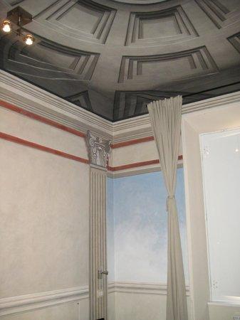 Suites Trastevere:                   Detail design in our room
