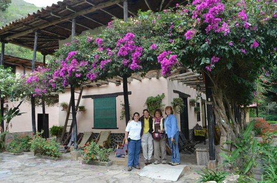 Hostal Estancia Chillo: flowers everywhere