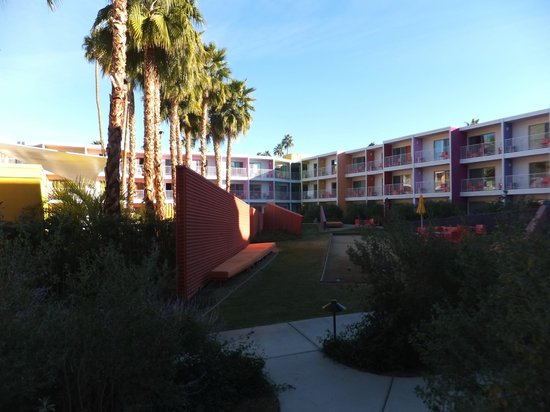 The Saguaro Palm Springs :                   View from the Pool View room