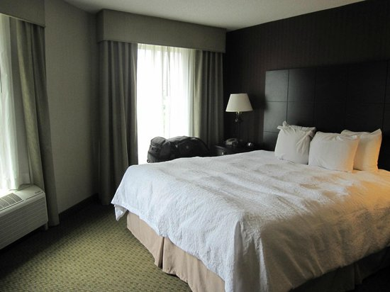 Hampton Inn & Suites Reagan National Airport:                   Master Bedroom