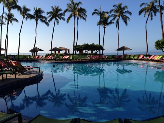 Hyatt Regency Maui Resort and Spa:                   Poolside