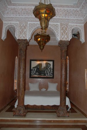 La Sultana Marrakech:                   suite near pool first floor