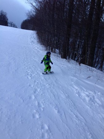 Okemo Mountain Resort:                   Good place to learn . Bull Run