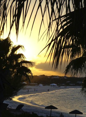 Beach House Turks & Caicos:                                     End to a perfect day!