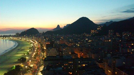 Hilton Rio de Janeiro Copacabana: Room view