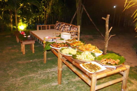 An Bang Seaside Village Homestay: wonderful barbecue !