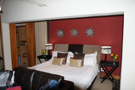 Sherewood Lodge:                   Unser Zimmer