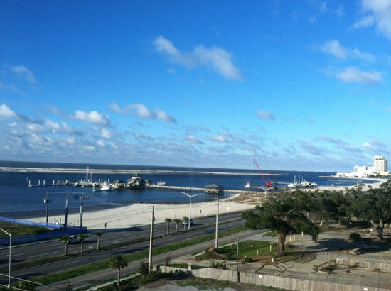 Harrah's Gulf Coast:                   View from my room
