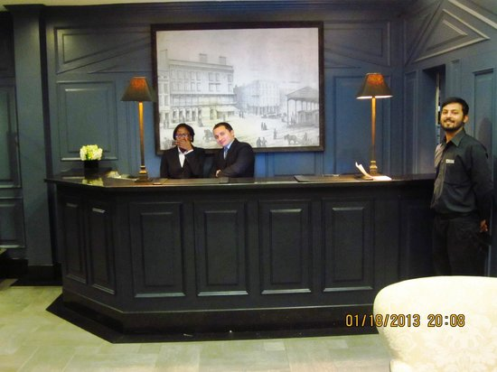 The Frederick Hotel:                   Evening Reception Staff