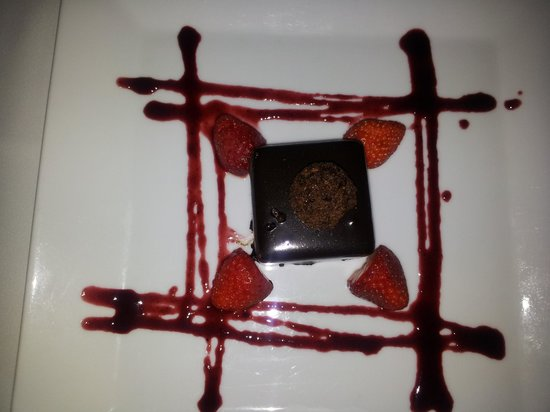 Can Furios Hotel: An exotic bit of chocolate for dessert