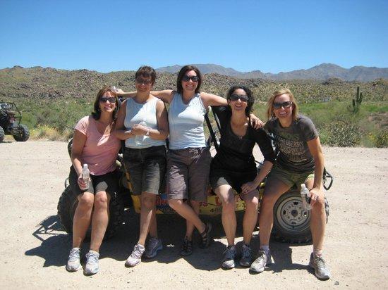 Desert Dog Hummer Adventures:                   Girls trip