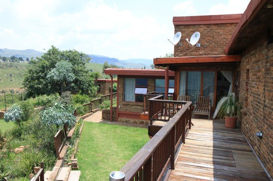 Acra Retreat - Mountain View Lodge - Waterval Boven:                   Teil der Lodge