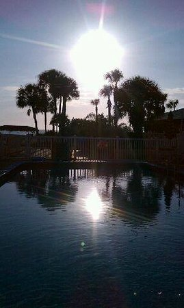 Gulf Beach Resort Motel: From the pool.