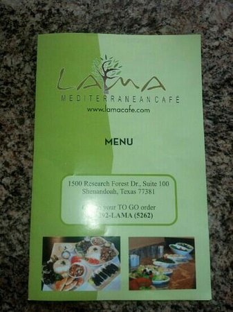 Lama Mediterranean Cafe : Lama Cafe