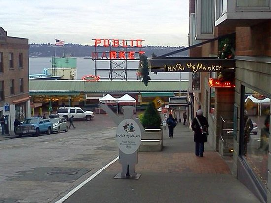Inn at the Market:                   So close to Pike Market