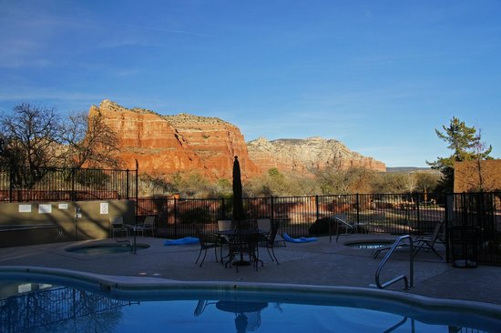 The Red Agave Resort: Beautiful view, location