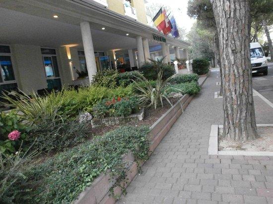 Hotel Golf: Entrata albergo