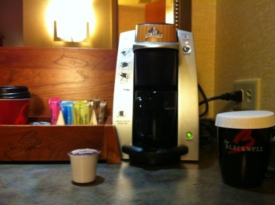 The Blackwell:                   Loved the coffee maker!!!