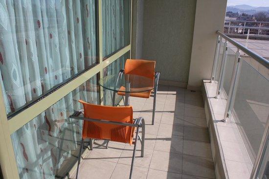Hotel Zdravets:                   VIP room - balcony