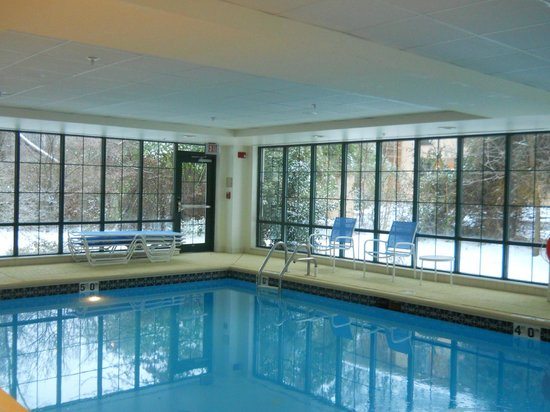 Homewood Suites by Hilton Newark/Wilmington South :                   Swimming when snowing... wonderful!