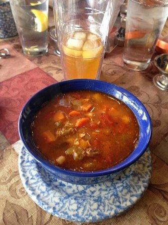 Tissa's Le Souk du Maroc:                   the most unbelievably delicious soup