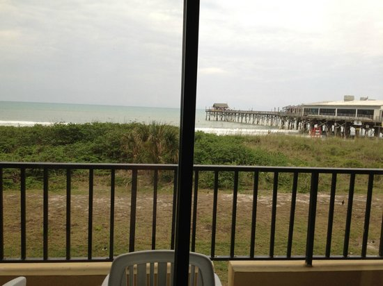 La Quinta Inn & Suites Cocoa Beach Oceanfront:                   View of the pier