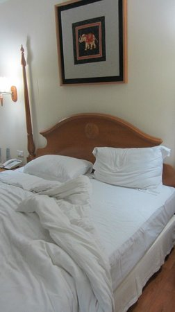 Centre Point Sukhumvit 10: Very comfortable bed.......