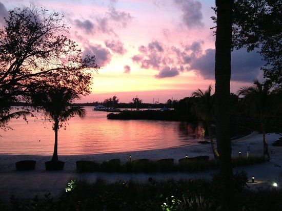 Club Med Sandpiper Bay: beautiful sunset from our room