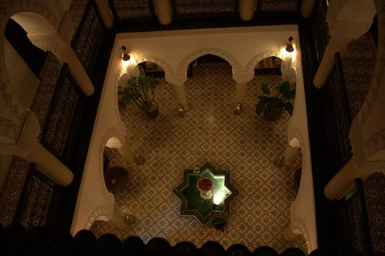 Riad Adriana: The gorgeous atrium