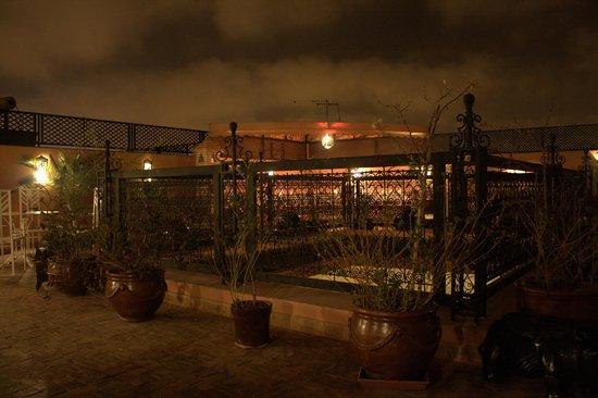 Riad Adriana: Rooftop terrace